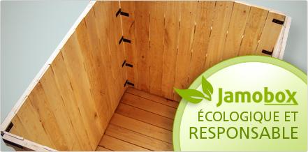 Jamobox, écologique et responsable