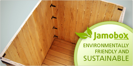 Jamobox, environmentally friendly and sustainable